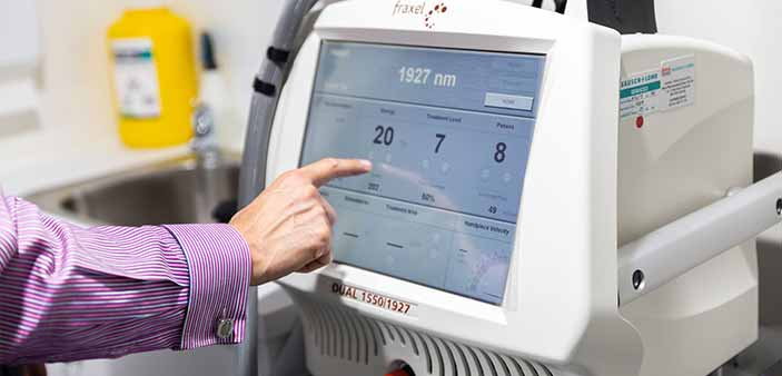 fraxel laser treatments at The DOC Clinic Melbourne